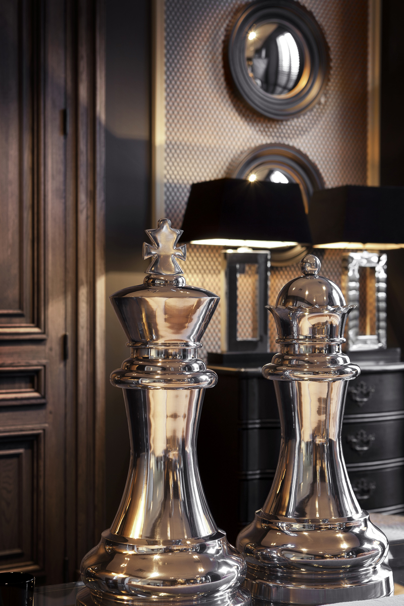 eichholtz chess king queen philipe marques home. Black Bedroom Furniture Sets. Home Design Ideas