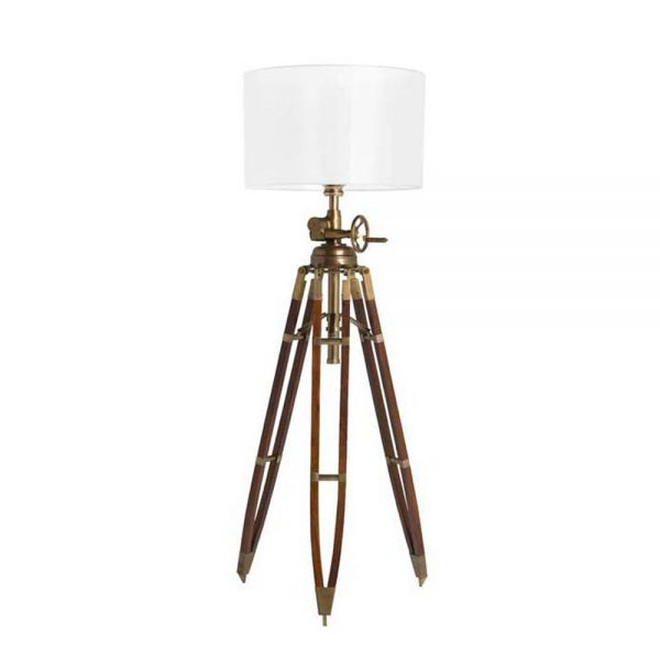 Eichholtz Royal Marine Floor Lamp - Antique Brass