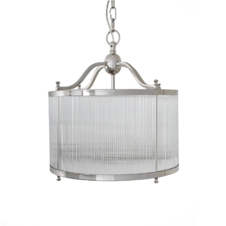 CAGLIO NICKEL CEILING LIGHT