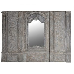 3 PC.WALL PANEL W/MIRROR