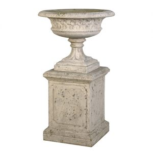 EASTWELL URN ON BASE