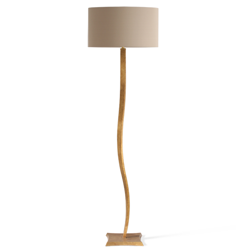 MFL28 - RIBBON FLOOR LAMP - BURNISHED GOLD