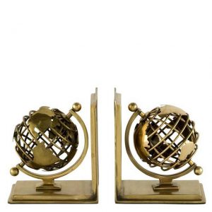 Book End Globe Set Of 2