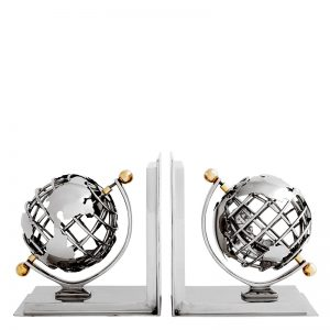 Book End Globe Set Of 02