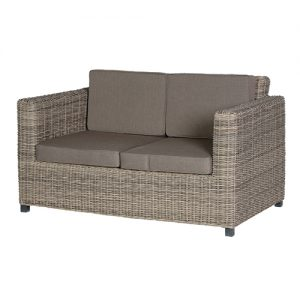 OUTDOOR RATTAN 2 SEATER