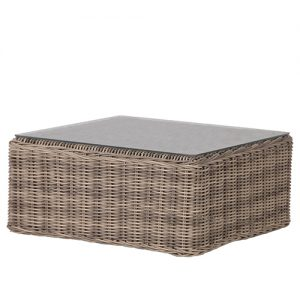 RATTAN SQ.COFFEE TABLE