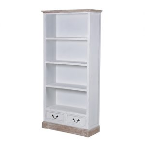 GROSVENOR BOOKCASE W/DRWS