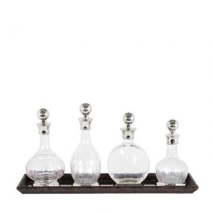 Decanter Armagnac Set of 4