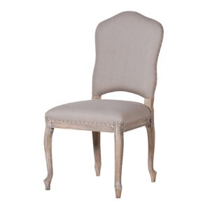 French Grey D-Chair