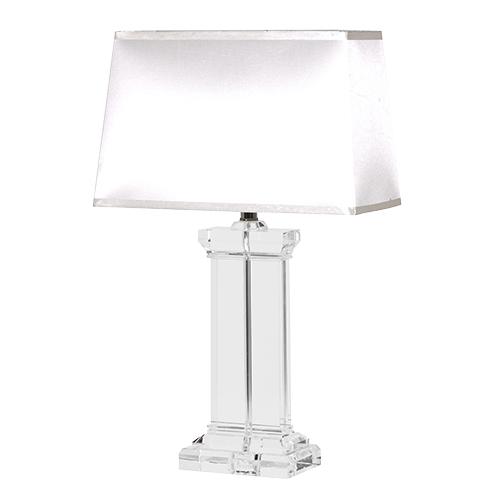 Lead Crystal Table Lamp