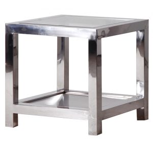 Venetian Mirr.End Table