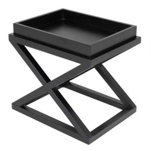 Table Side McArthur Black