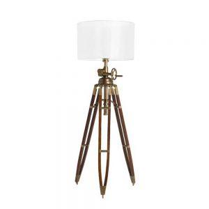 Eichholtz Royal Marine Floor Lamp - Antique Brass