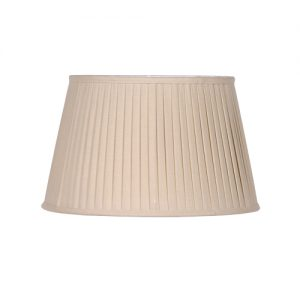 XL BEIGE PLEAT SHADE ONLY