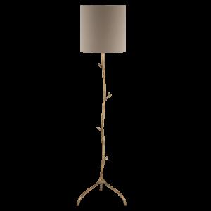 MFL04 - TWIG FLOOR LAMP - BURNISHED GOLD