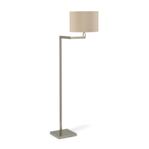 SFL36 - READING FLOOR LAMP - NICKEL