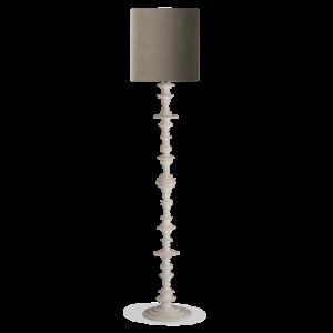 VFL08 - SPIN FLOOR LAMP - PLASTER WHITE