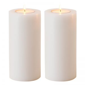 Artificial Candle Set Of 2