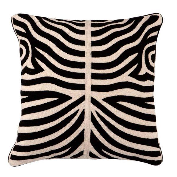 Pillow Zebra Black