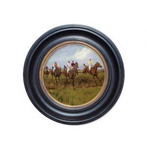 Porthole Collection - Horse Race