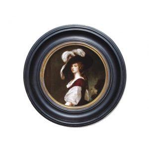 Porthole Collection - Portrait of Lady Milnes