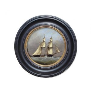 Porthole Collection - The Schooner