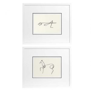 Prints EC195 Pablo Picasso Set of 2