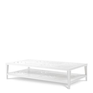 Made from heavy duty materials, the rectangular Bell Rive Coffee Table is a stylish addition to your conservatory, veranda, patio or garden.