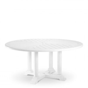 Made from heavy duty materials, the round Bell Rive Dining Table Ø 160 cm is perfect for your conservatory, veranda, patio or garden.