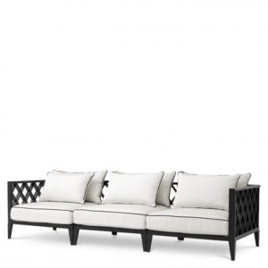 Recline in the Ocean Club Sofa. Made from heavy duty materials, this sumptuous sofa is a stylish addition to your conservatory or outdoor living space.