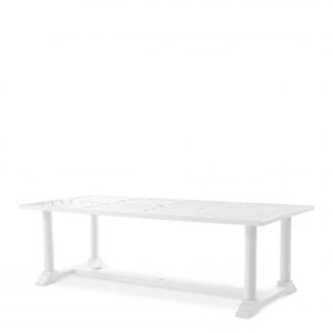 Made from heavy duty materials, the rectangular Bell Rive Dining Table is perfect for your conservatory, veranda, patio or garden.