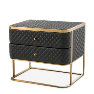 With its seductive curves and vintage look, the 2-drawer Monfort Side Table is a must-have nightstand in your bedroom