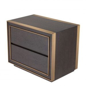 Pairing sophisticated design with Art Deco style and chic materials, Side Table Camelot brings elegance to your living room or bedroom, where it can serve as a nightstand.