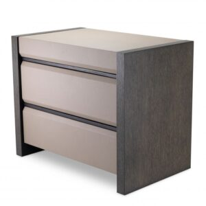 The Meribel Bedside Table offers handy storage right where you need it.