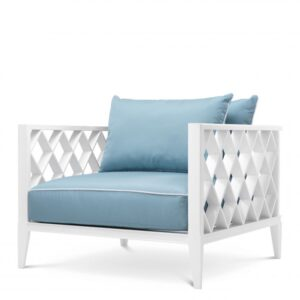 Sit back and relax in the Ocean Club Chair. Made from heavy duty materials, this elegant armchair is a stylish addition to your conservatory or outdoor living space.