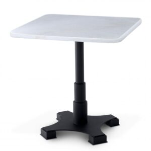 Choose the Mercier Square Dining Table for a contemporary take on the traditional bistro table.