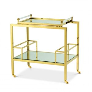 The luxury MAJESTIC Trolley is ideal for channelling a touch of glamour into your interior scheme.
