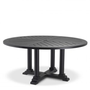 Made from heavy duty materials, the round Bell Rive Dining Table Ø 160 is perfect for your conservatory, veranda, patio or garden.