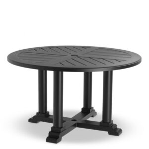Made from heavy duty materials, the round Bell Rive Dining Table Ø 130 cm is perfect for your conservatory, veranda, patio or garden.